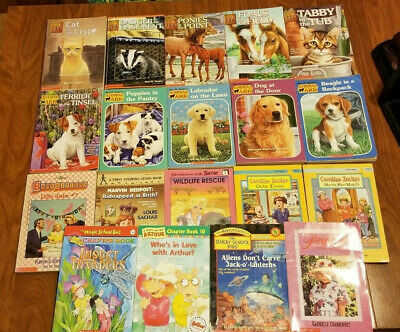 19 Chapter Books Girls and Boys ANIMAL ARK BAILEY SCHOOL ARTHUR MAGIC SCHOOL BUS