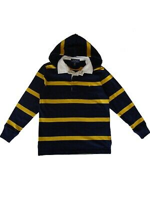 Genuine Boys Ralph Lauren Polo hoodie Rugby T Shirt Top age 2 - 16 + RRP £65