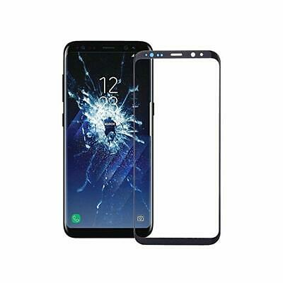 For Samsung Galaxy S8 S9 Touch Screen Digitizer Front Glass Replacement Black