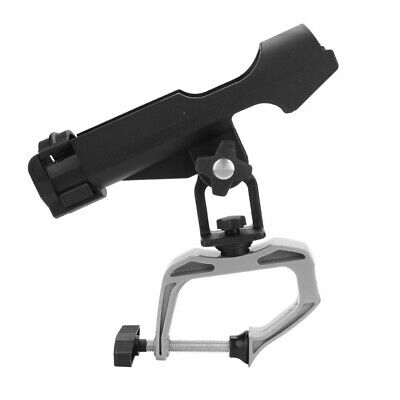 Adjustable Raft Boat Kayak Fishing Rod Pole Stand Bracket Mount Holder Rest Rack