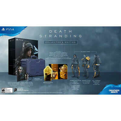Death Stranding: Collector s Edition PS4 - For PlayStation 4 - ESRB Rated Mature