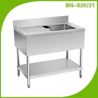 Commercial  Stainless Steel Sink  - Heavy Duty  Single , Double Bowl