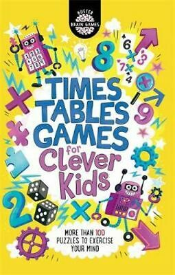 NEW Times Tables Games for Clever Kids By Gareth Moore Paperback Free Shipping