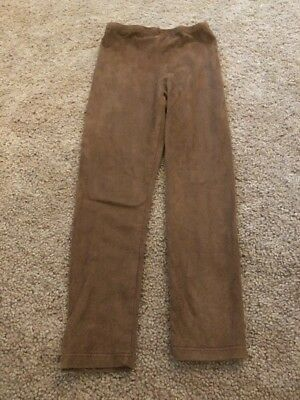 Just Ride Girls Brown Supersoft Legging Pants Size 4