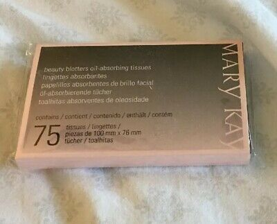 Mary kay Beauty Blotters Oil-Absorbing 75 Tissues- Fast shipping