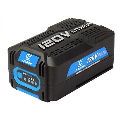 Clam 120V 2.0Ah Lithium Ion Battery - Compatible with the Ice Auger Kit (109148)