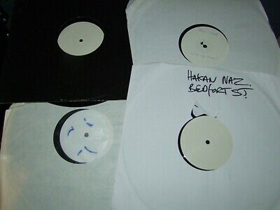 """Job Lot Of   8  White Lable    Edm  Trance House   12""""  Record Collection 23"""