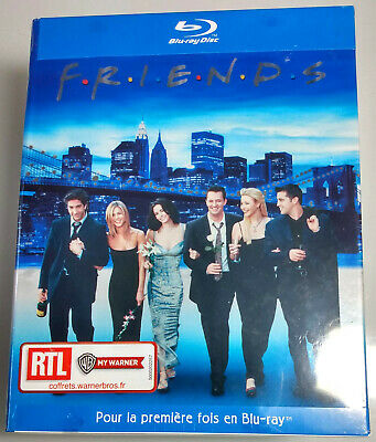 Friends: The Complete Series FRENCH BOX New 21-Disc BLU-RAY Set Seasons 1-10