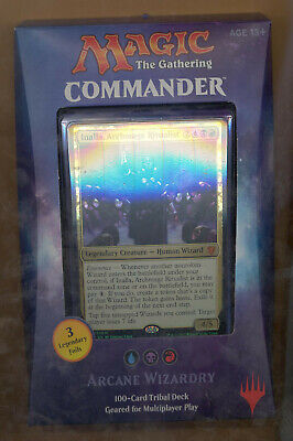 Magic The Gathering Commander Deck Arcane Wizardry Sealed Brand New Inalla L@@K