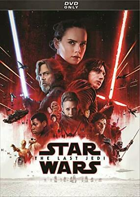 Star Wars: Episode VIII: The Last Jedi,New DVD, Andy Serkis, Carrie Fisher, Adam