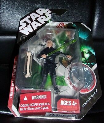 2007  STAR WARS. RETURN OF THE JEDI. LUKE SKYWALKER. with COLLECTOR COIN