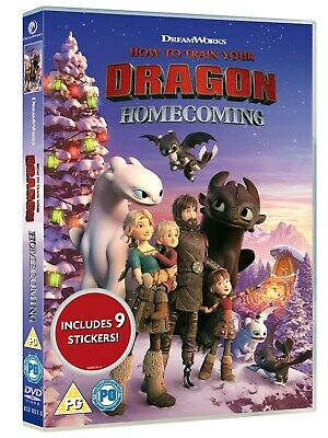 How To Train Your Dragon: Homecoming (Limited Edition Sticke RELEASED 09/12/2019
