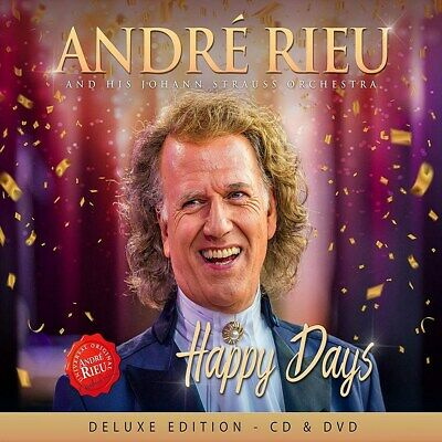 André Rieu and His Johann Strauss Orchestra: Happy Days - An RELEASED 22/11/2019