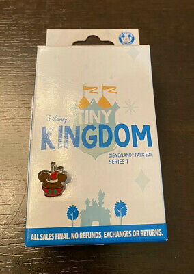 Disney Mystery Pin 2019 Disneyland Tiny Kingdom Mickey Christmas Candy Apple LR
