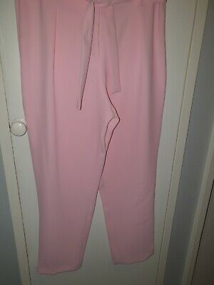Girls Pink River Island Trousers Age 11