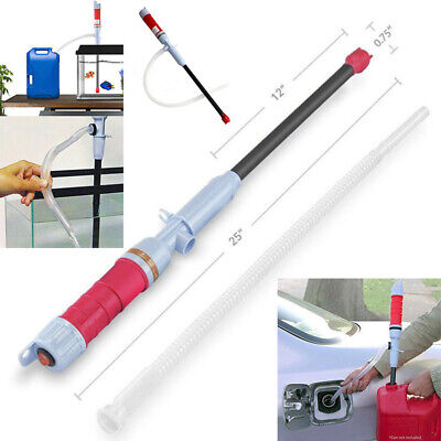 Pump Pipe Electric Siphon Oil Water Petrol Liquid Transfer Battery Operated Tool