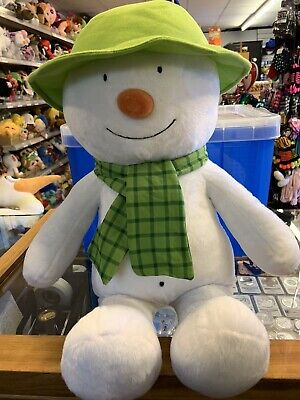 Official Licensed Snowman And The Snowdog Plush Toys Giant Snowman & Snowdog60cm