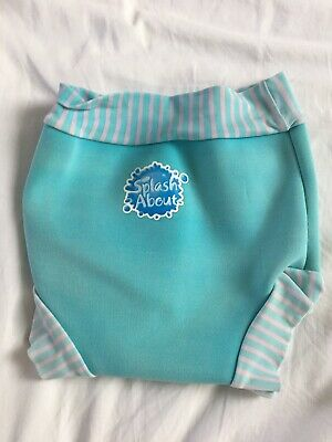 Splash About Swim Nappy XL Extra Large Happy Nappy Turquoise Teal Blue