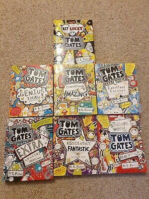 Tom Gates books collection 7 books, some hard back, good condition