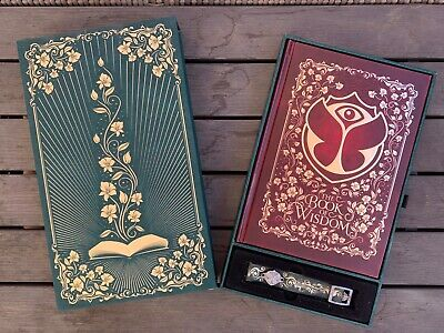 Tomorrowland 2019 - Treasure Case And Book- The Book Of Wisdom The Return