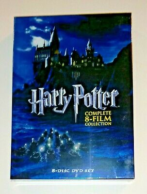 Brand New! Harry Potter Complete 8-Film Collection. 8 Disc Dvd Set. Ships Free