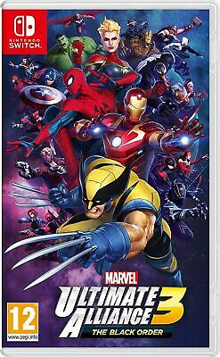 Marvel Ultimate Alliance 3 The Black Order Nintendo Switch Game