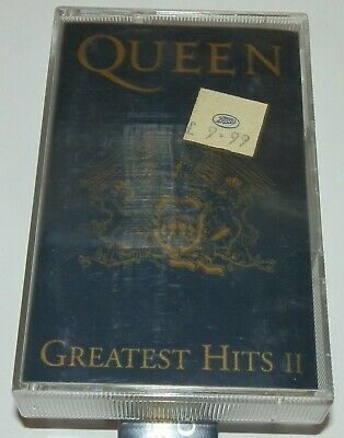 Queen - Greatest Hits II, Long Play Cassette, TCPMTV2, 1991, EX Play
