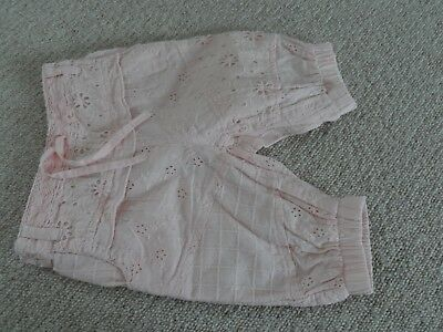 Girls trousers. Next. Age 6-9 months.