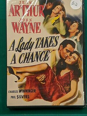A Lady Takes A Chance,DVD,1943,B&W,Not Rated,1.33:1**new in plastic**