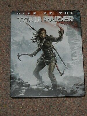 Rise of The Tomb Raider: Playstation 4 Steelbook. Includes game PS4
