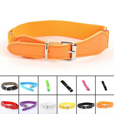 Infant Belt Thin Waist Pin Candy Color Childrens Toddler Adjustable Buckle