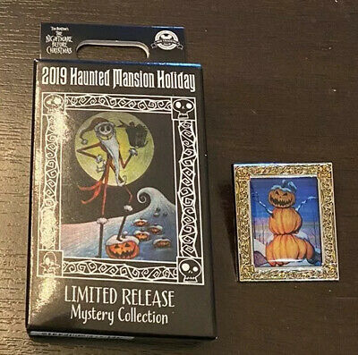 Disney 2019 Haunted Mansion Holiday Mystery Box Pin - Pumpkin Man - LR