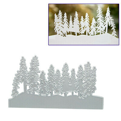 Christmas Tree Metal Cutting Dies Cut Die Mold Scrapbook Craft Mould Stencils