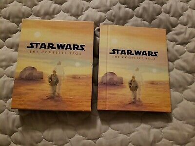 Star Wars: The Complete Saga (Blu-ray Disc, 2015, 9-DiscSet) Collectors Edition