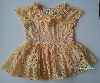Vintage 70s Very Cute Little Dress Very Pretty
