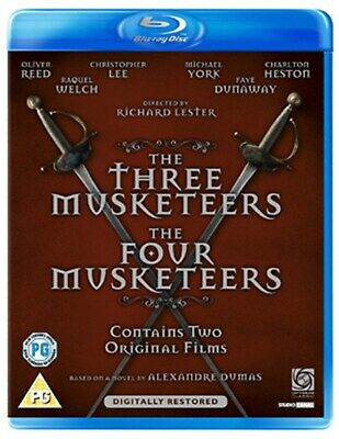 The Three Musketeers/The Four Musketeers [Blu-ray]