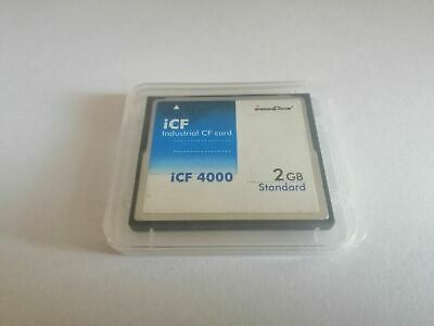 Innodisk 2GB iCF 4000 Dual Channel Industrial Compact Flash DC1M-02GD31C1SB