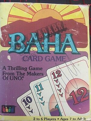 Baha Card Game From The Makers Of UNO