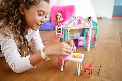 Barbie DWJ50 Family Chelsea Clubhouse Portable Play Colourfull Building Doll