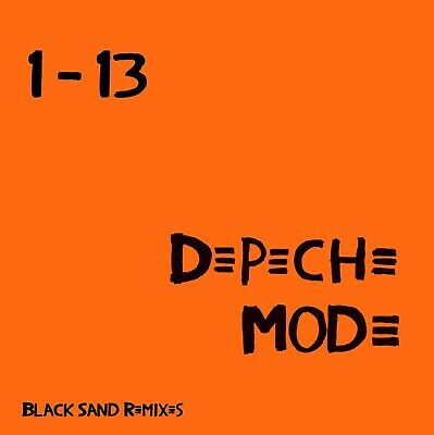 Depeche Mode x4 Remix CD's -Singles x 2 +Black Celebration+ Music For The Masses