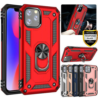 Magnetic Ring Holder Case Shockproof Cover For Apple iPhone Xr Xs 11 Pro Max