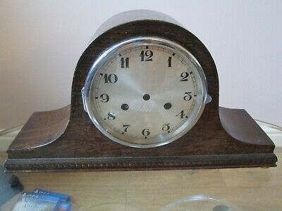 Striking  Mantel Clock Case With Bezel And Glass