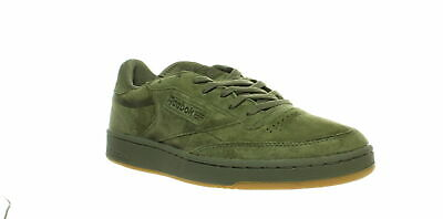 Reebok Club C 85 Tg BS8206 Mens Pink Suede Casual Lace Up Low Top Sneakers Shoes