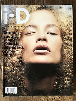 i-d magazine no. 218 2002 The landscape Issue carolyn murphy
