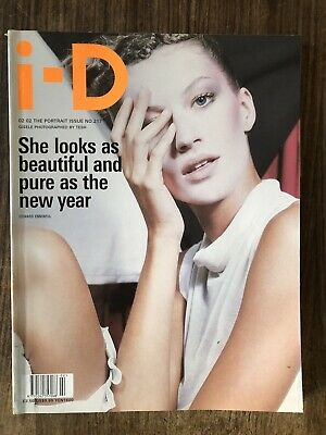 i-d magazine no. 217 2002 Theportrait Issue Giselle