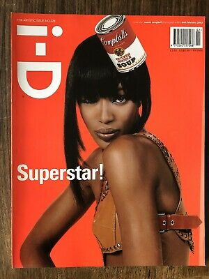 i-d magazine no. 288 2003 The artistic Issue Naomi Campbell