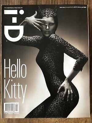 i-d magazine no. 230 2003 The individual Issue kate moss