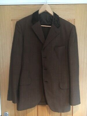 Vintage 1960s Bespoke Mohair Mod Suit. Incredibly Rare .Retro.