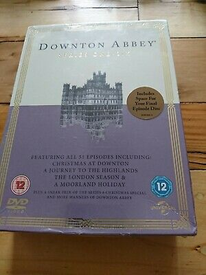 Downton Abbey - Series 1- 6 [DVD] [2015]NEW SEALED DVD BOXED SET