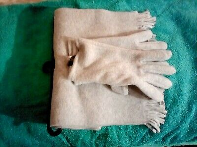 Scarf and Gloves Set George BNWT